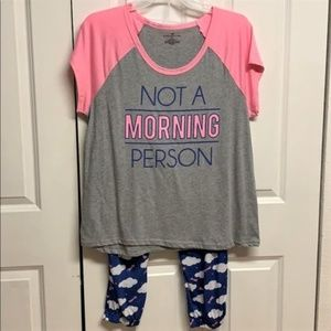 Bobbie Brooks Pajama Set Size 3X New